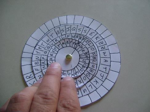 Kryptos Cipher Wheel