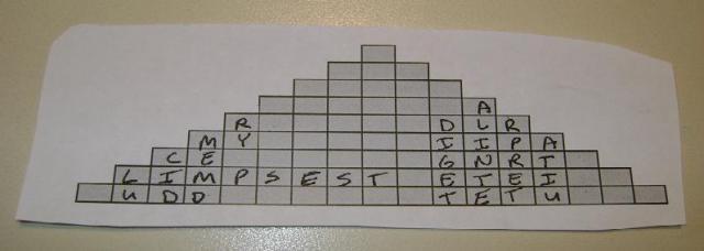 Kryptos Pyramidal Transposition Cipher