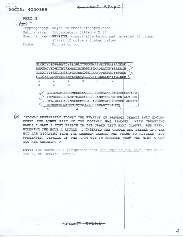 NSA Kryptos FOIA p9
