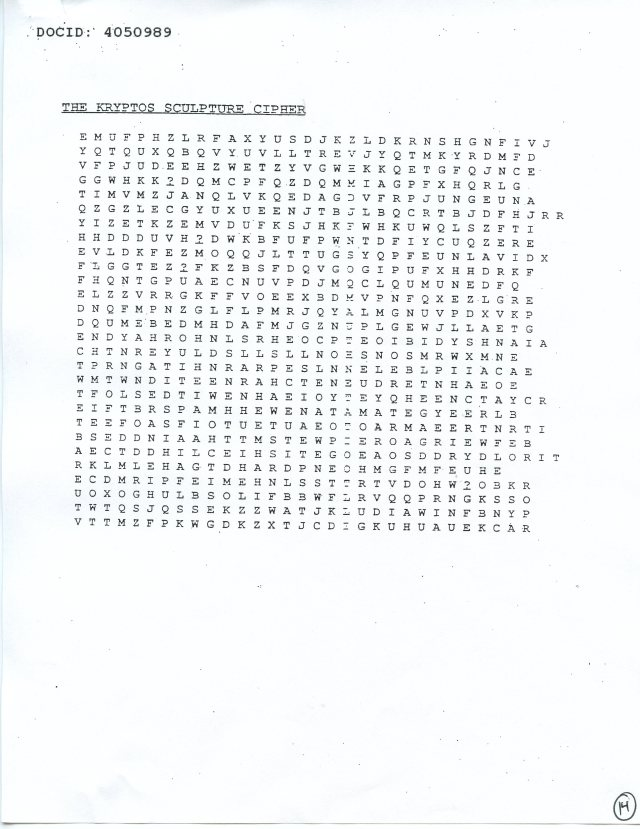 NSA Kryptos FOIA p14