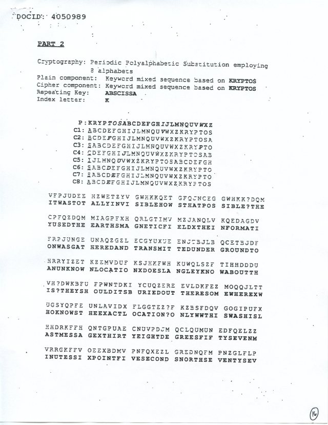 NSA Kryptos FOIA p16
