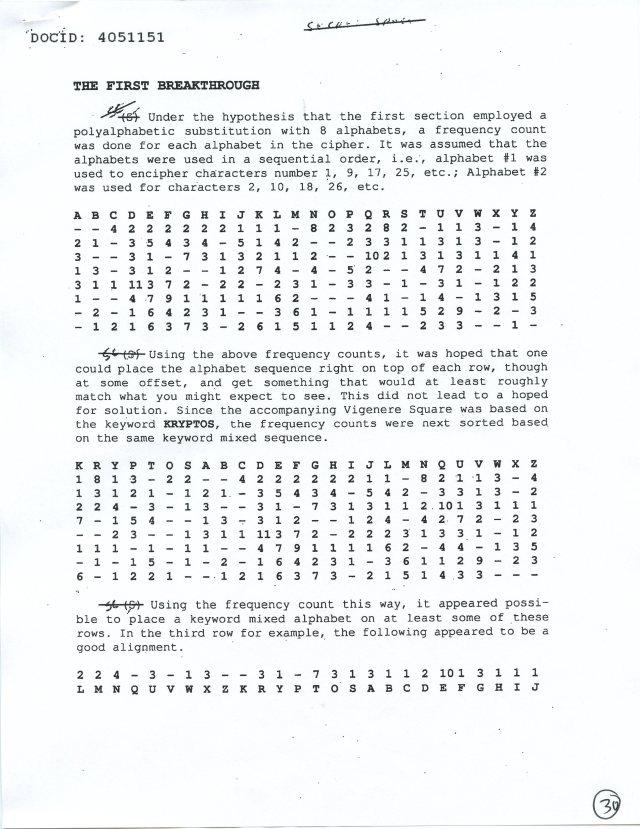 NSA Kryptos FOIA p30