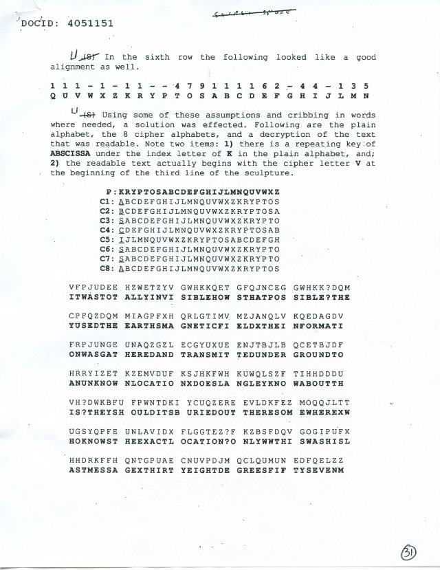 NSA Kryptos FOIA p31