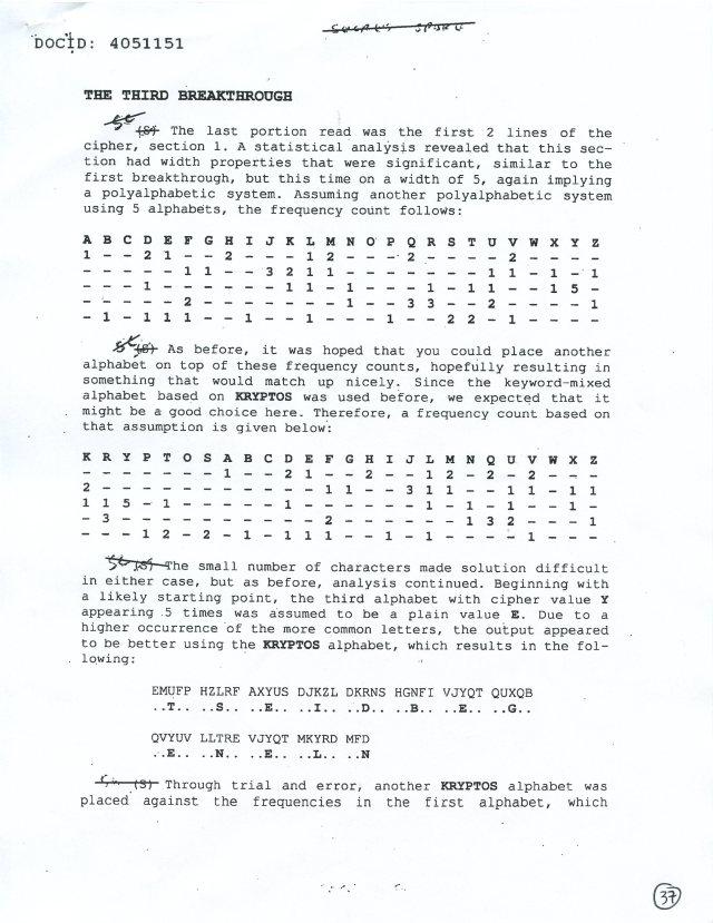 NSA Kryptos FOIA p37